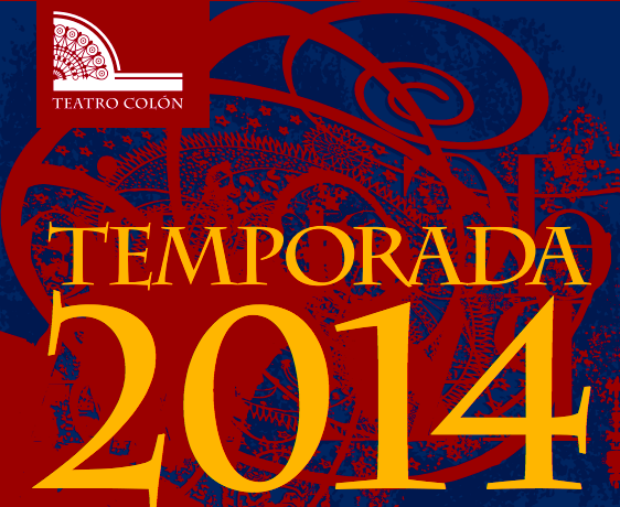 Temporada 2014 del teatro colon
