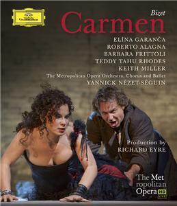 Carmen de bizet con Roberto Alagna, Elina Garanca y Barbara Fritoli