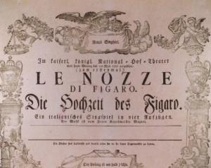 Las bodas de Fígaro by Wolfgang Amadeus Mozart