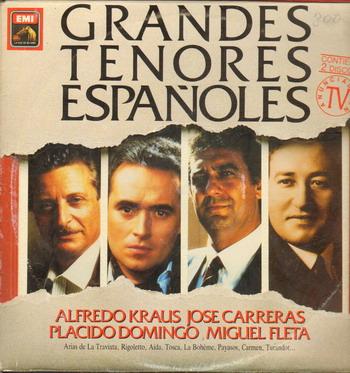 grandes tenores españoles