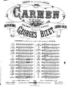 Carmen de Bizet :: La Opera Prima de Lirismo Frances
